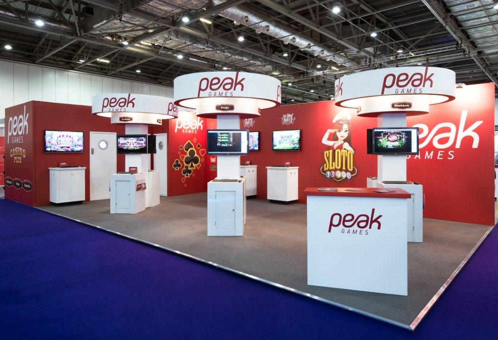 Exhibition Stand Fitter Jobs London : Peak games ice london expose designs exhibition