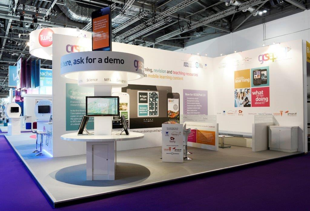 Exhibition Stand Fitter Jobs London : Gcsepod bett london expose designs exhibition