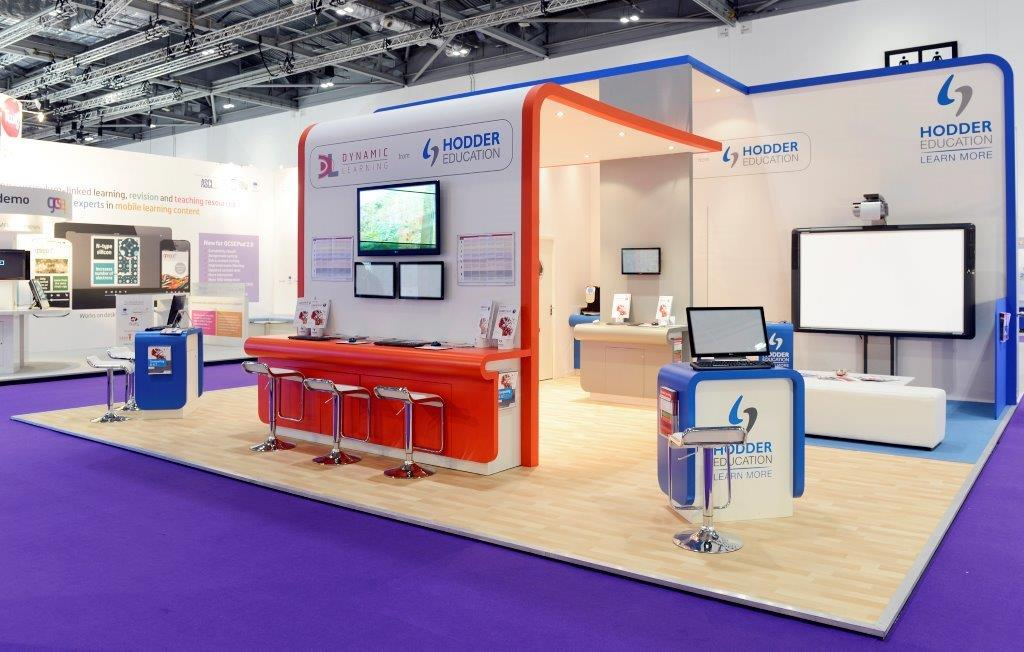 Bett Exhibition Stand Of The Year : Hodder education bett expose designs exhibition