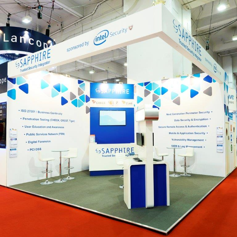 Exhibition Stand Fitter Jobs London : Sapphire infosecurity london expose designs