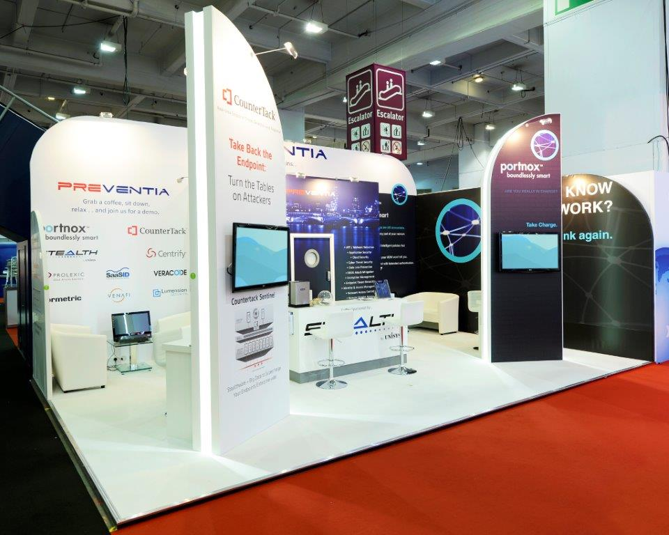 Exhibition Stand Fitter Jobs London : Preventia infosecurity london expose designs