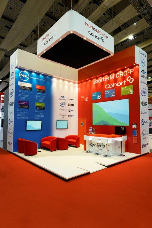 Exhibition Stand Fitter Jobs London : Exertis micro p infosecurity london expose designs