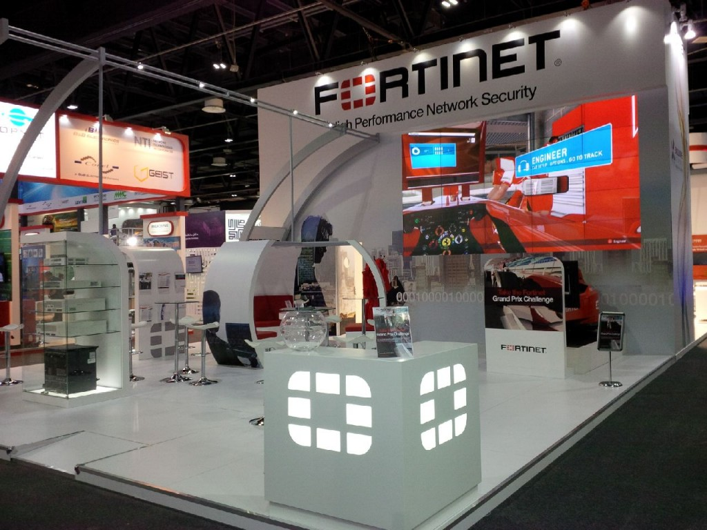 Exhibition Stand Transport : Fortinet gitex dubai expose designs exhibition