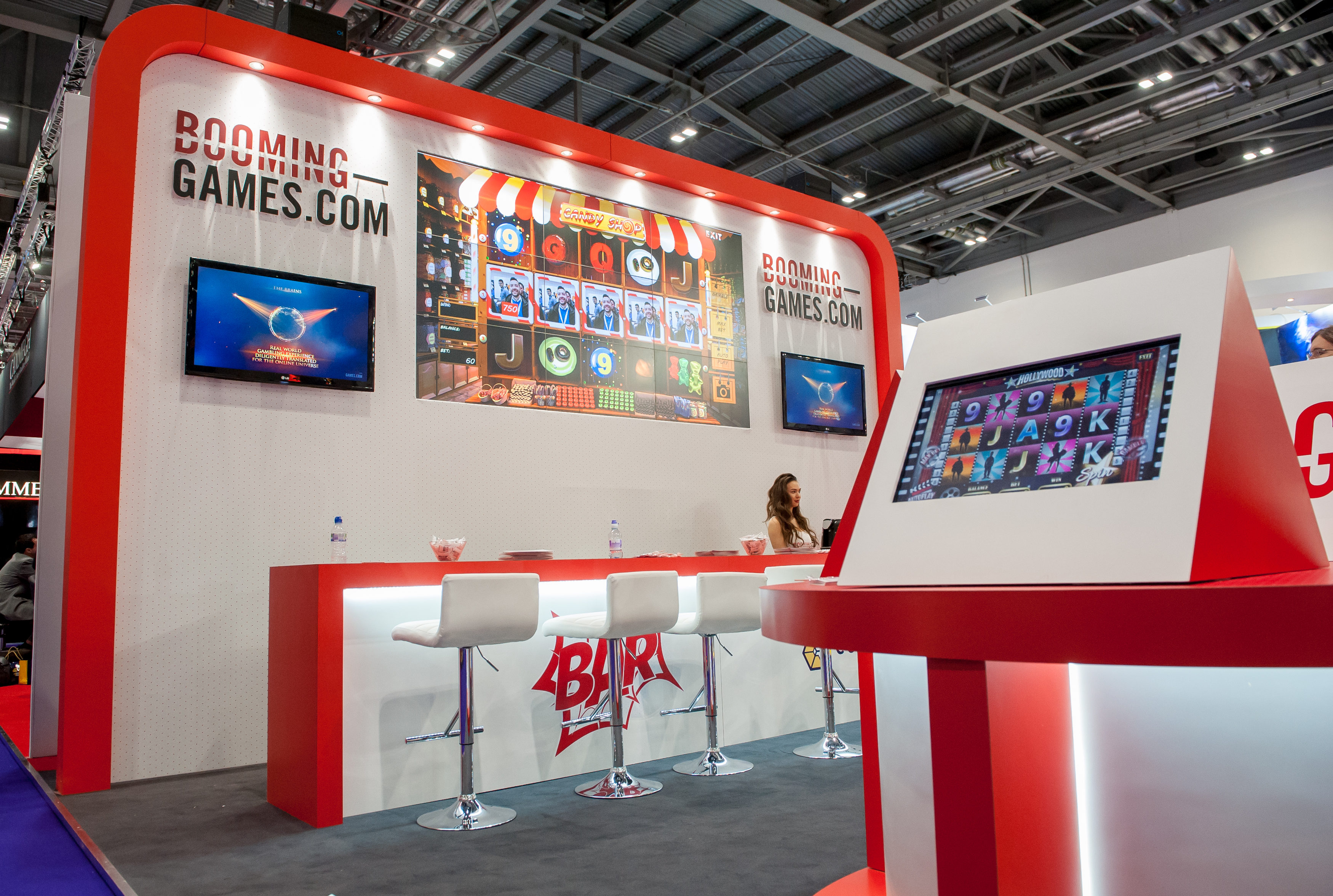 Exhibition Stand Game : Booming games ice expose designs exhibition stands
