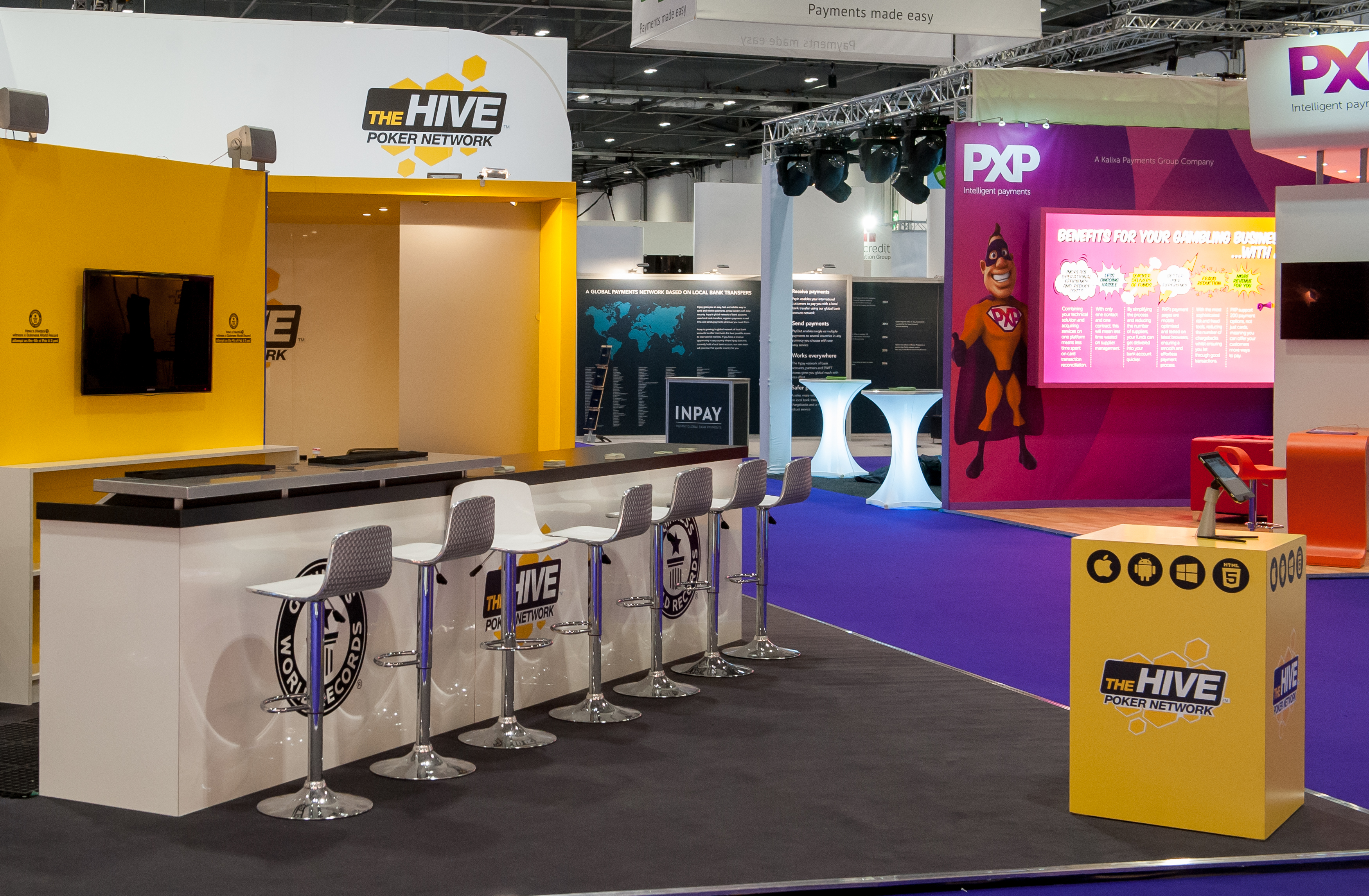 Exhibition Stand Fitters : Bethive ice expose designs exhibition stands
