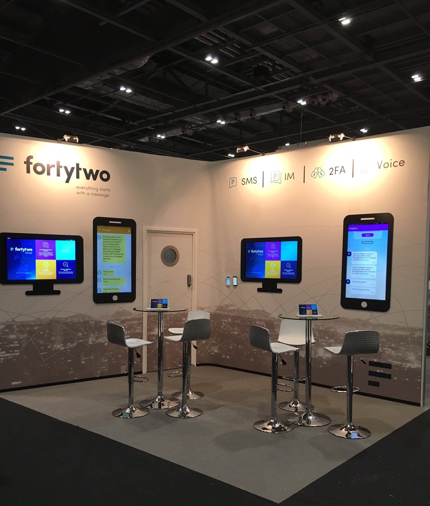 Exhibition Stand Fitter Jobs London : Fortytwo appsworld london expose designs exhibition