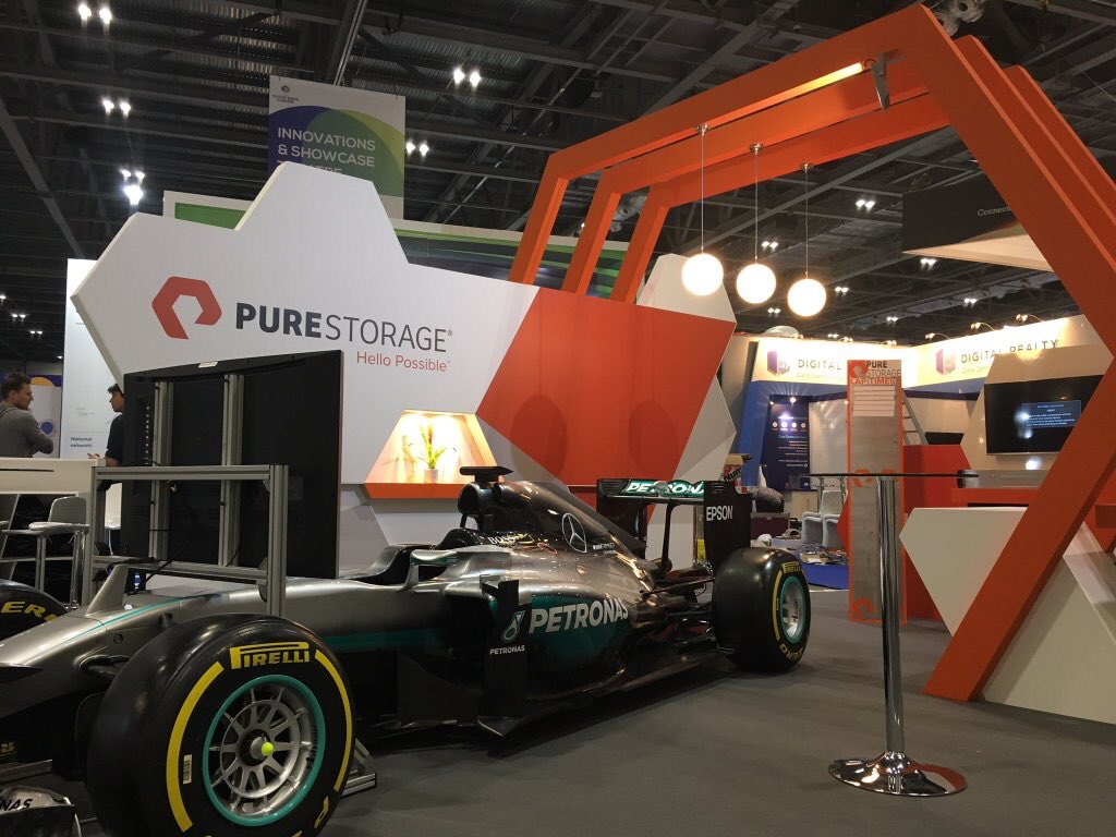 Exhibition Stand Europe : Pure storage @ cloud expo europe london expose designs