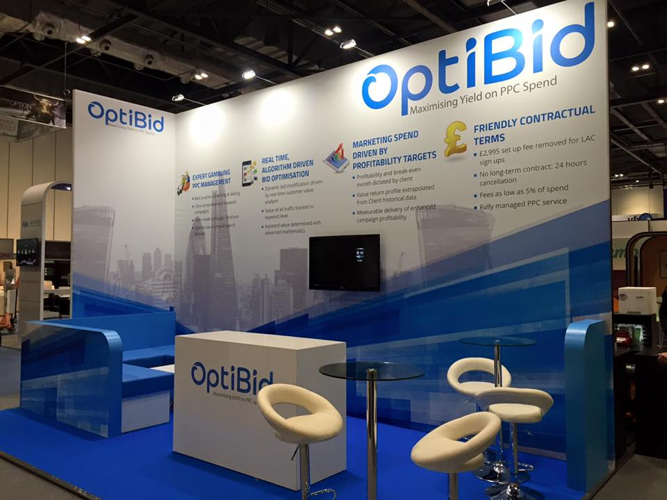 Marketing Exhibition Stand Uk : Optibid @ lac london expose designs : exhibition stands design
