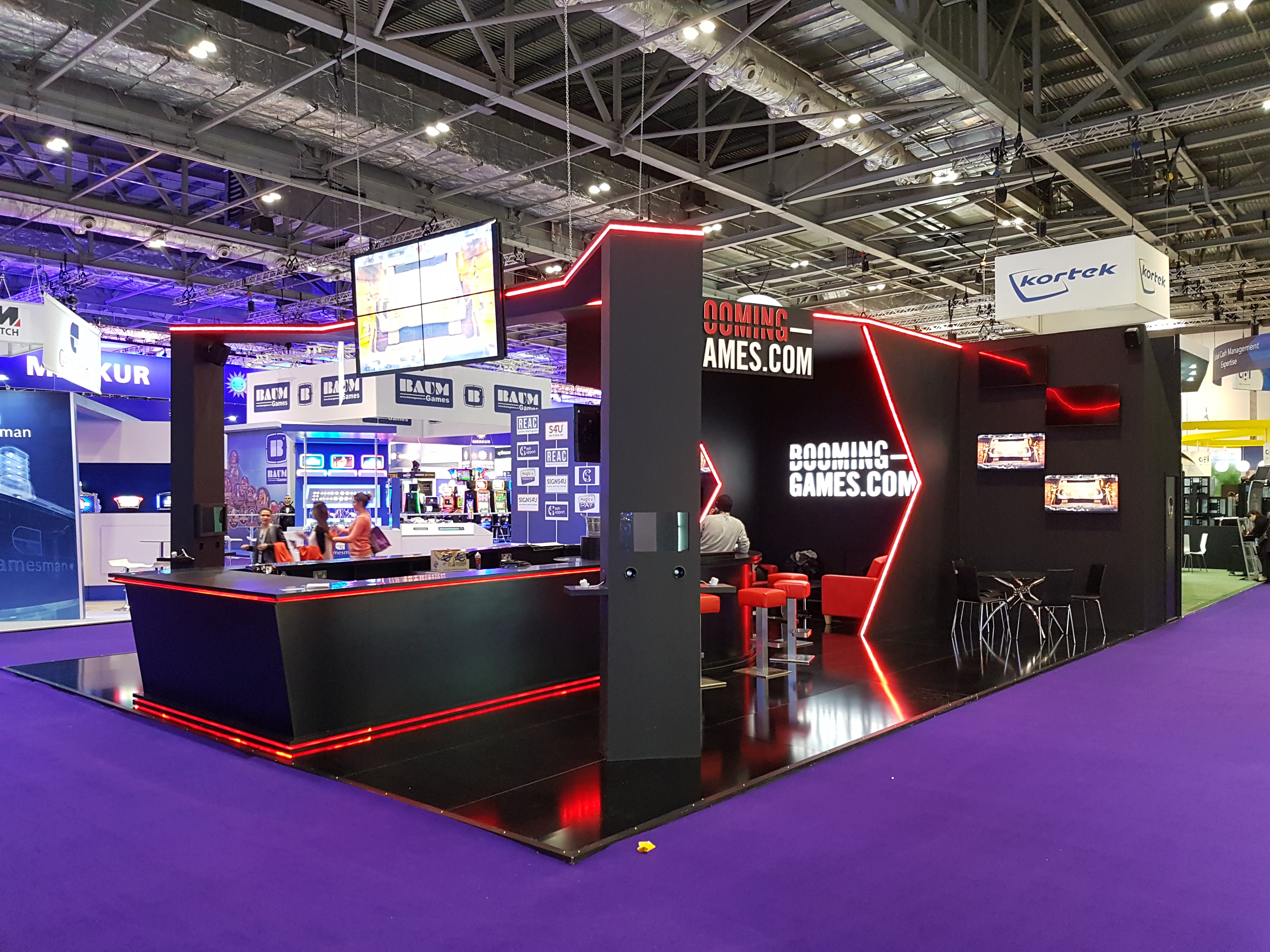 Exhibition Stand Games : Booming games @ ice london expose designs : exhibition stands