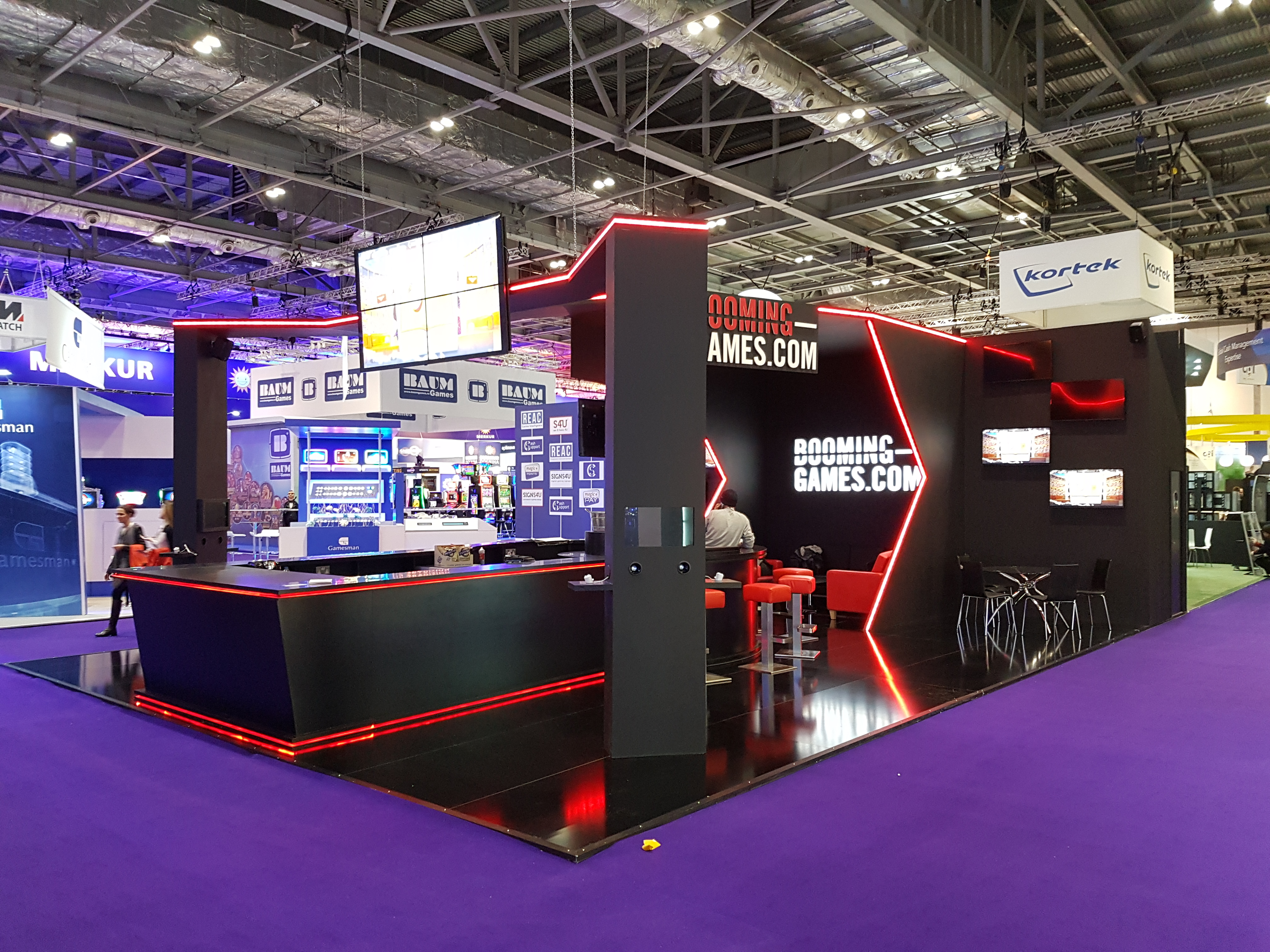 Exhibition Stand Fitter Jobs London : Booming games ice london expose designs exhibition