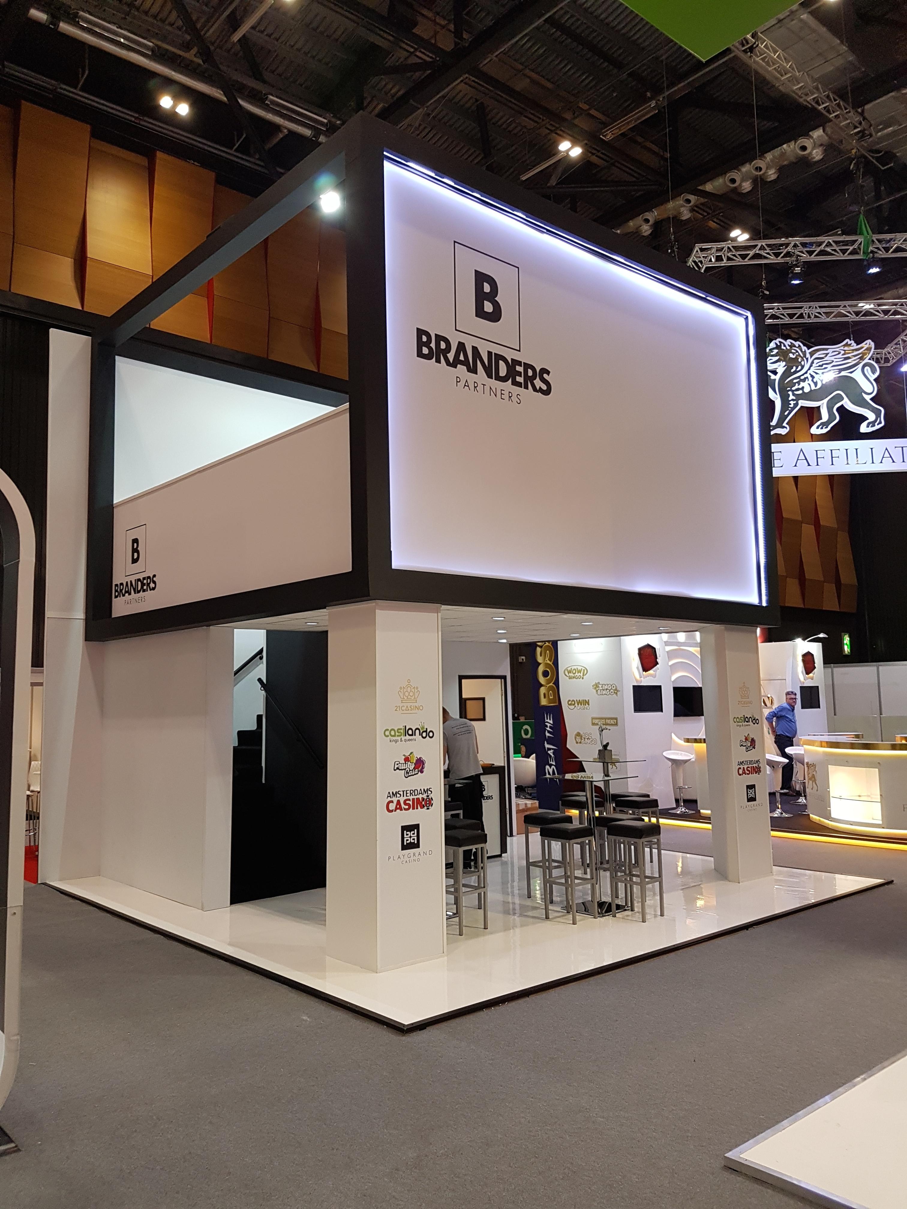 Branders LAC London Expose Designs exhibition stands design
