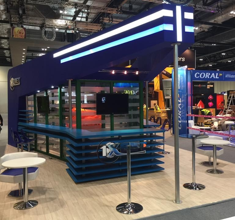 1XBET @ LAC, London   Expose Designs : exhibition stands, design