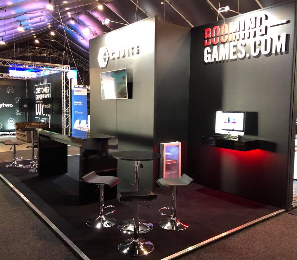 Exhibition Stand Games : Booming games @ sigma malta expose designs : exhibition stands
