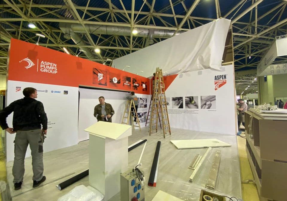 Setup – International Specialised Exhibition – Climate World – Expocentre Moscow